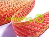 Тесьма окантовочная 15 мм, цвет оранжевый