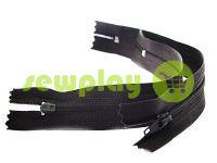 Блискавка юбочна спіральна 18 см тип 2, колір чорний