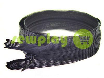 Блискавка потайна спіральна 50 см тип 3, колір чорний арт 2622