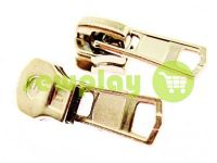 Slider for metal zipper square II type 5 nickel