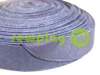 Резинка текстильна синя 25 мм плотна