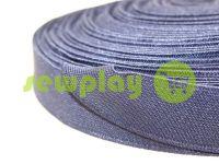 Резинка текстильная синяя 25 мм плотная