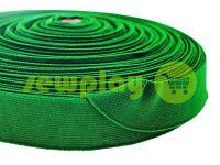 Резинка текстильна зелена 25 мм плотна