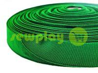 Резинка текстильная зеленая 25 мм плотная
