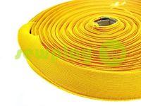 Резинка текстильная желтая 25 мм плотная