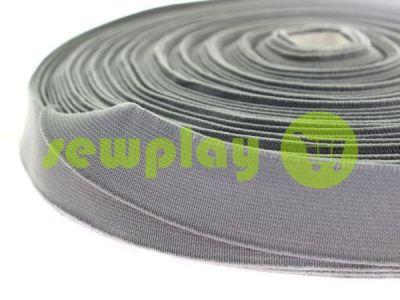 Резинка текстильная серая 25 мм плотная арт 2752