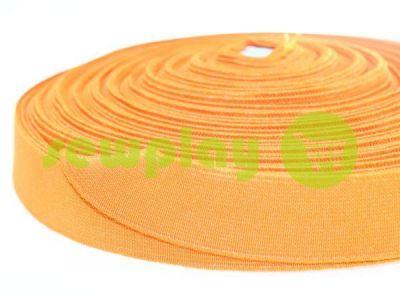 Резинка текстильная оранжевая 25 мм плотная арт 2754