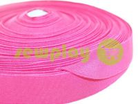 Elastic band textile pink 25 mm thick sku 2755