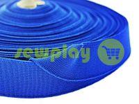 Резинка текстильна блакитна 25 мм плотна