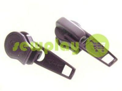 Бегунок стандартный для спиральной молнии тип 5 фиолетовый  арт 1246