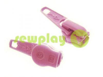 Бігунок стандартний для спіральної блискавки тип 5 рожевий