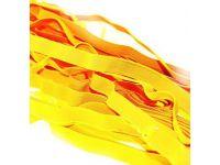 Резинка текстильная желтая 10 мм плотная, 25 м