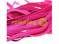 Резинка текстильная розовая 10 мм плотная, 25 м