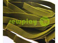 Резинка текстильная коет 10 мм плотная, 25 м