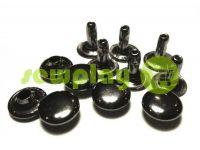 Хольнитен односторонний 3 мм - 12 мм темный никель, 100 шт