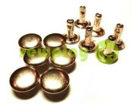 Хольнитен односторонний 3 мм - 12 мм золото, 100 шт