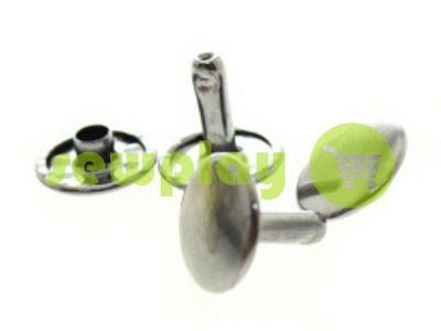Хольнітен двосторонній 5 мм - 12 мм нікель, 100 шт арт 1289