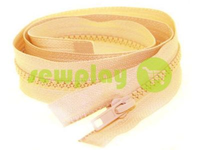 Zipper tractor type 5 one slider 40 cm - 100 cm, color beige 038 sku 1411