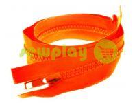 Молния тракторная тип 5 на один бегунок 40 см - 100 см, цвет оранжевый 317