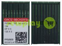 Иглы промышленные для трикотажа с толстой колбой Groz-Beckert DPX5/134/135X5 FFG 80/12