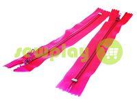 Молния брючная спиральная 18 см тип 4, цвет розовый 145