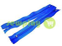 Блискавка брючна спіральна 18 см тип 4, колір блакитний 213