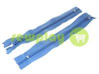 Блискавка брючна спіральна 18 см тип 4, колір блакитний 218