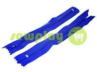 Блискавка брючна спіральна 18 см тип 4, колір блакитний 223