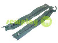 Молния брючная спиральная 18 см тип 4, цвет зеленый 273