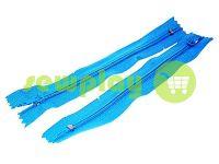 Блискавка брючна спіральна 18 см тип 4, колір блакитний 274